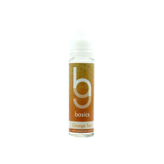 Grey Haze Basics - Orange Tart - 50ml Short Fill
