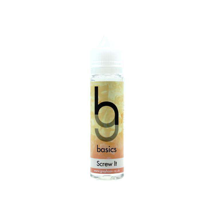 Grey Haze Basics - Screw It - 50ml Short Fill grey-haze.myshopify.com