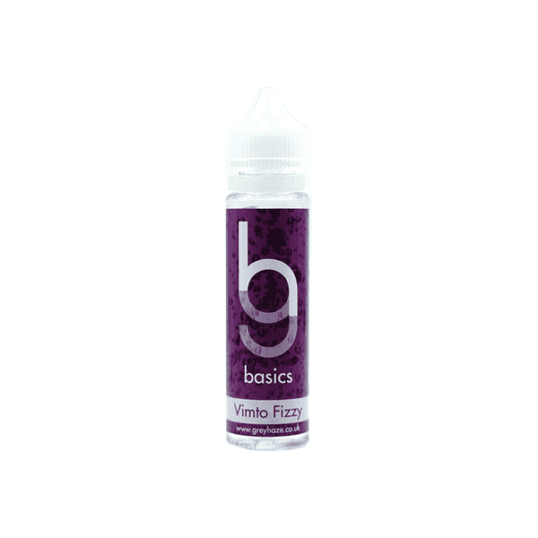 Grey Haze Basics -  Vimto Fizzy - 50ml Short Fill
