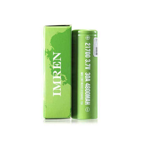 Imren 21700 30A 4800mAh Single Battery