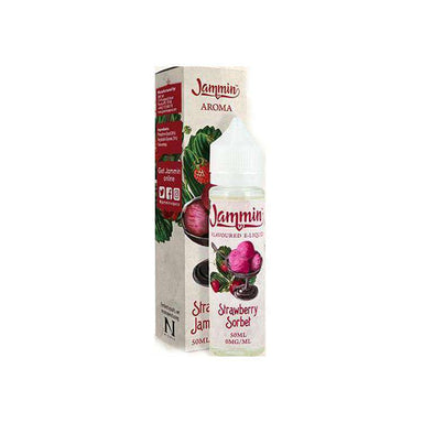 Strawberry Sorbet By Jammin 50ml eLiquid grey-haze.myshopify.com