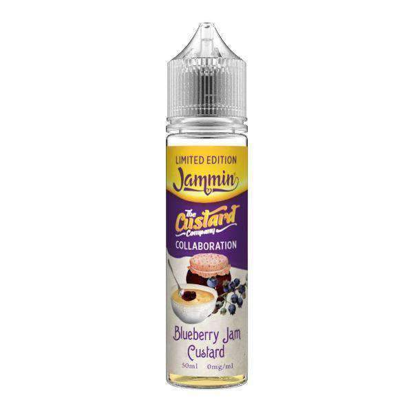 Blueberry Jam Custard - Jammin' Custard Limited Edition 50ML eLiquid grey-haze.myshopify.com