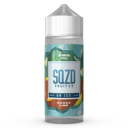 Mango Lime on Ice by SQZD - Short Fill 100ml