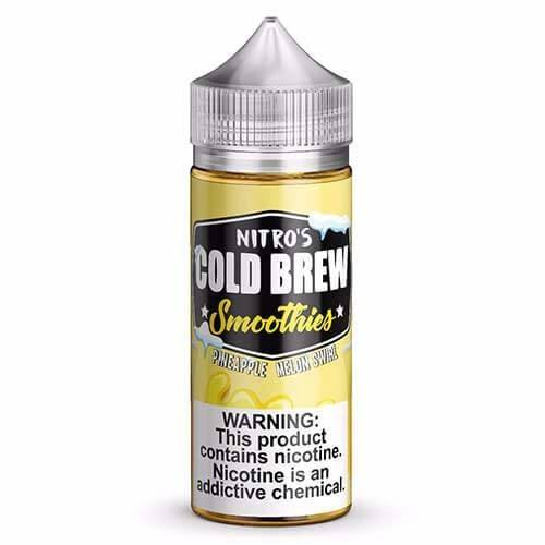 Nitro's Cold Brew Smoothies - Pineapple Melon Swirl 100ml E-Liquid