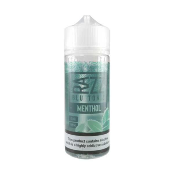 Menthol by RAZZ Blu Tonic Short Fill 100ml