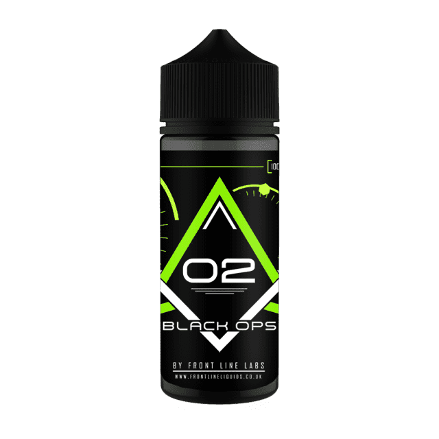 Black Ops Lemon & Lime by Frontline Short Fill 100ml grey-haze.myshopify.com