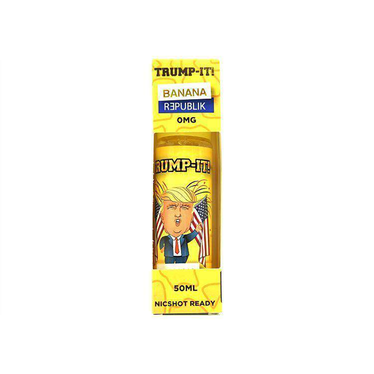 Trump-It! E-liquid Banana Republik - 50ML - Short Fill grey-haze.myshopify.com