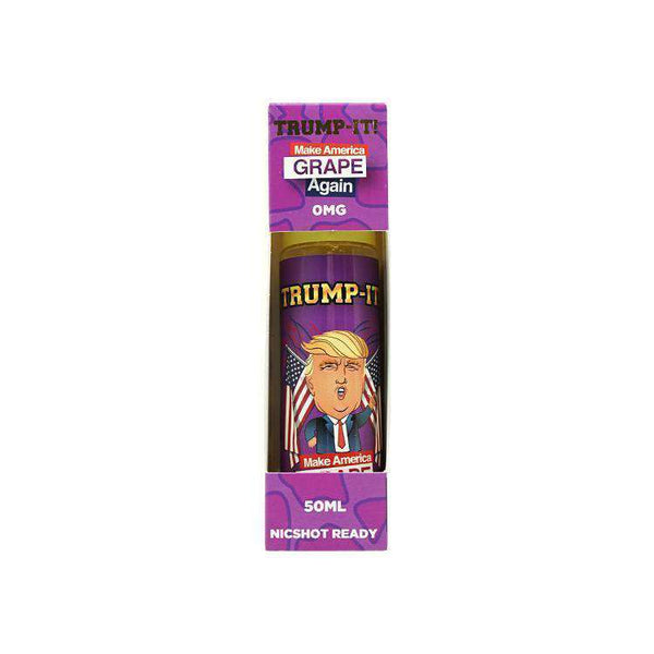 Trump-It! E-liquid Make America Grape Again - 50ML - Short Fill