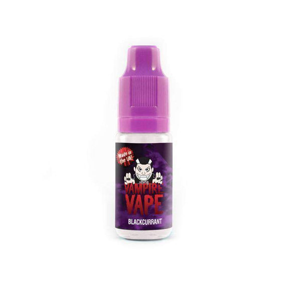 BLACKCURRANT - Vampire Vape Eliquid 10ml