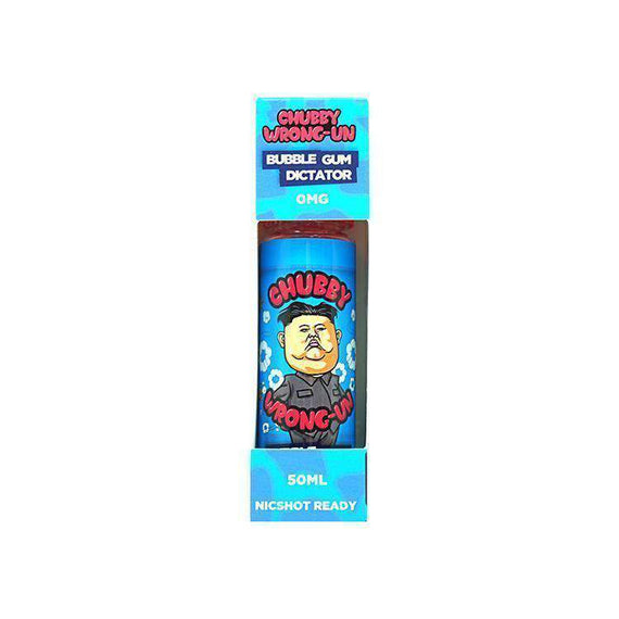 Chubby Wrong-Un Bubble Gum Dictator - 50ML - Short Fill