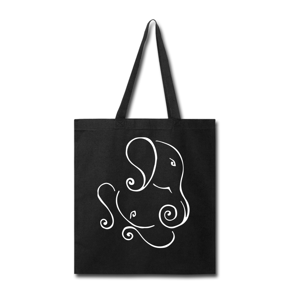 Tote Bag - Proud to be Indian - black