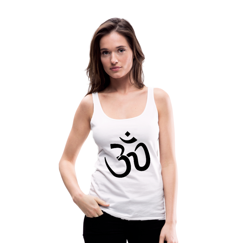 Women's Premium Tank Top - Proud to be Indian - white