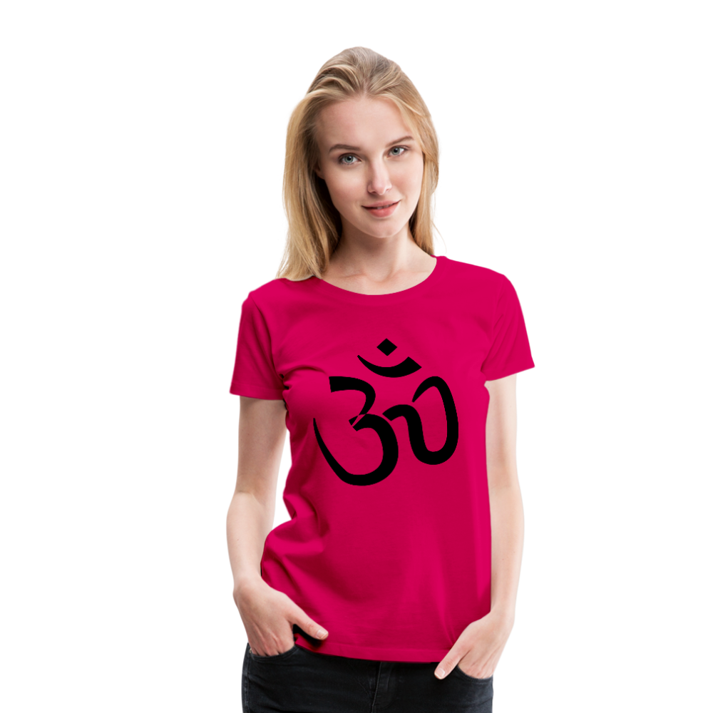 Women's T-Shirt - Proud to be Indian - dark pink