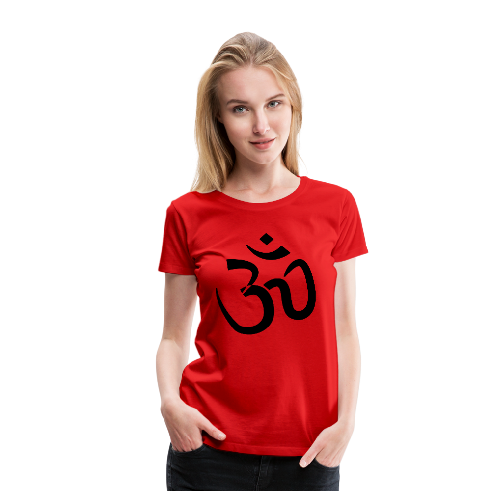 Women's T-Shirt - Proud to be Indian - red