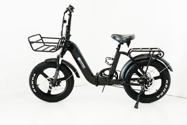 TRIPPER FOLD X BLACK - UPGRADED FOLDING E-BIKE