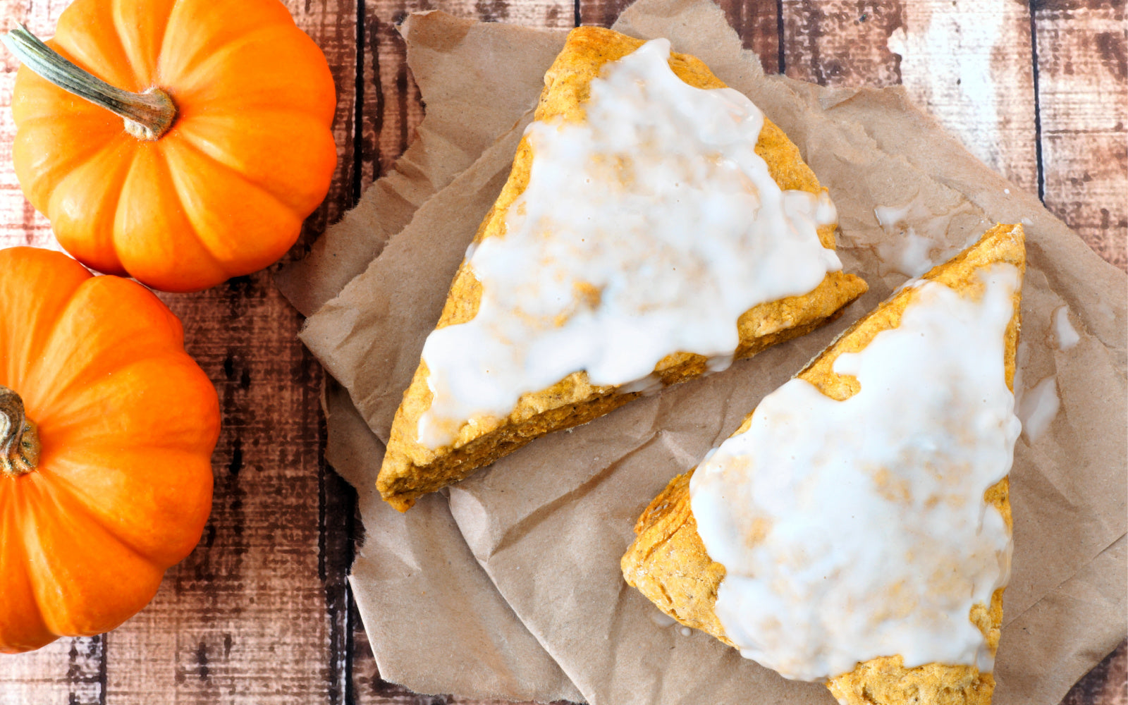 fall vegan pumpkin scones recipe