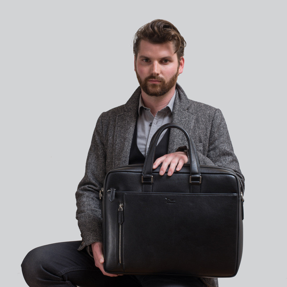 Men's Vegan Briefcases