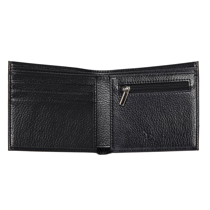 Doshi Wallet w/ coin pocket - Pebbled Microfiber Leather - Vegan - Doshi FCSA