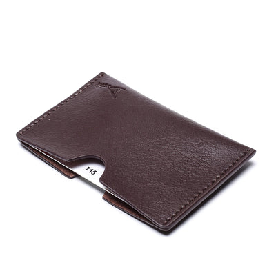 Doshi - Card Holder Pocket - Vegan - Doshi FCSA brown