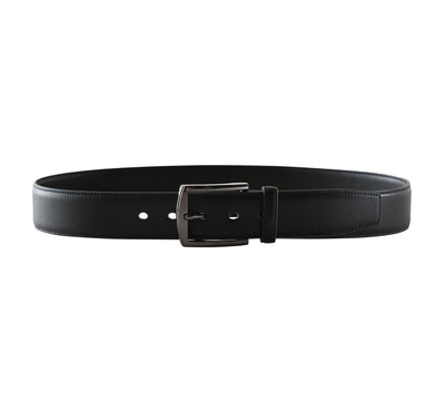 Metallic Black Square 2 Belt - Vegan - Doshi FCSA
