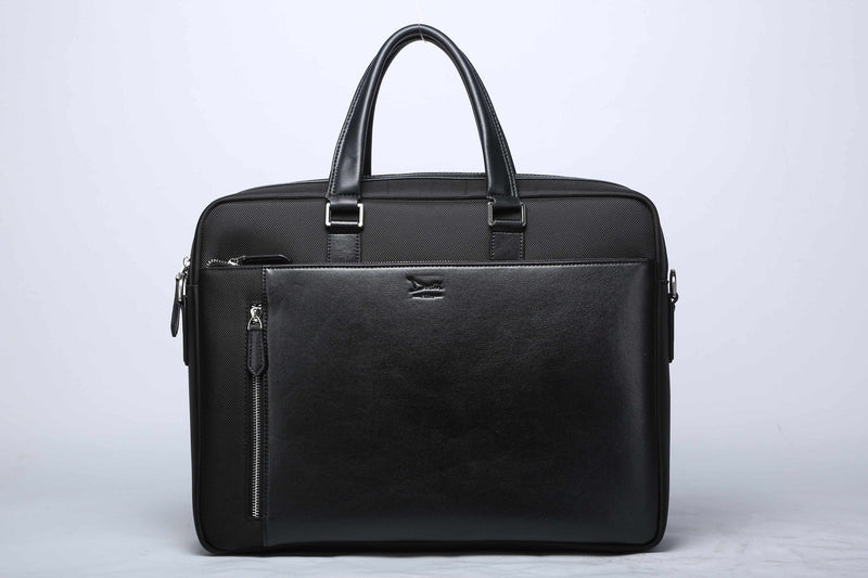 Doshi Modern Professional Soft Structured Briefcase XL - Microfiber/Nylon - Vegan - Doshi FCSA