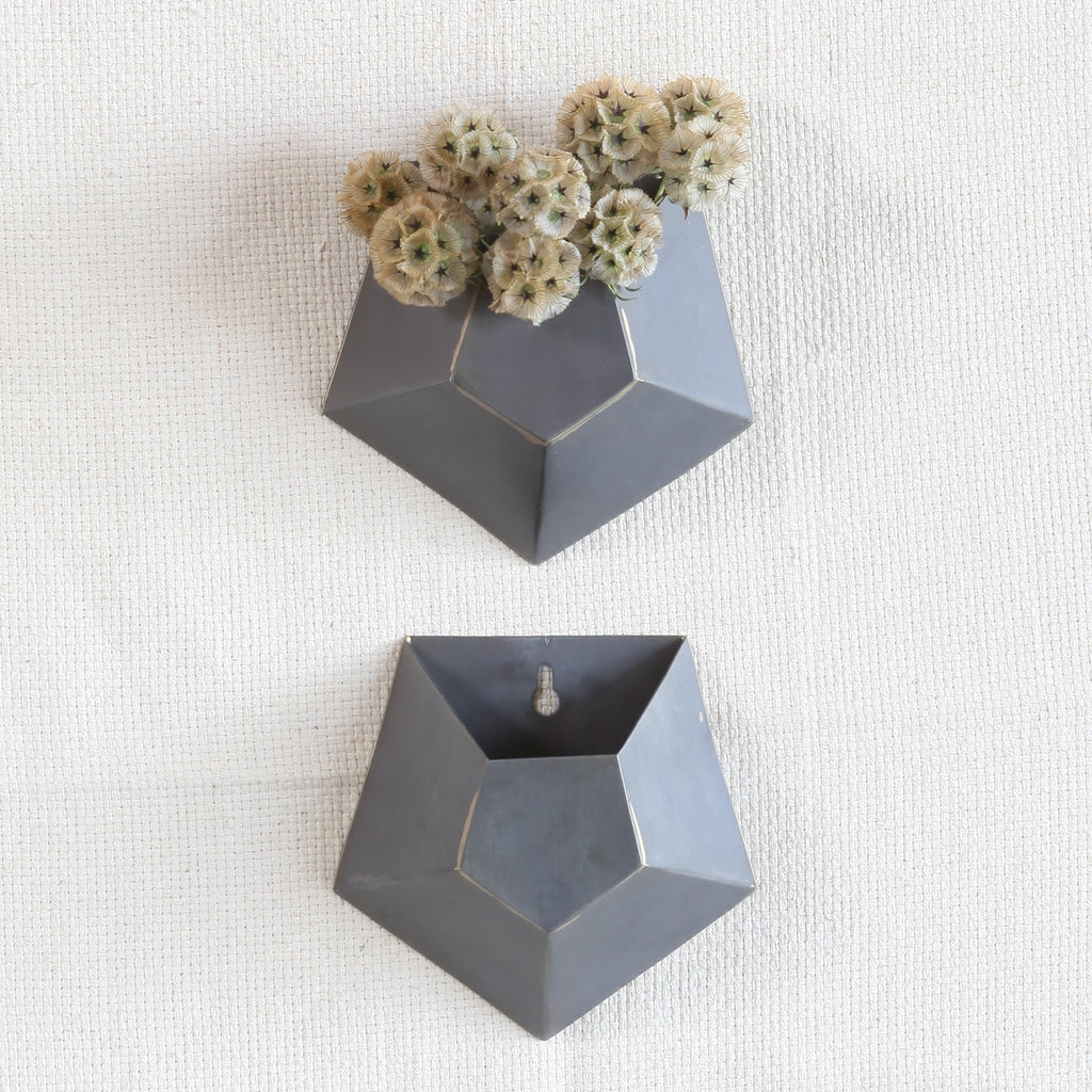 Hexagon Single Wall Vase