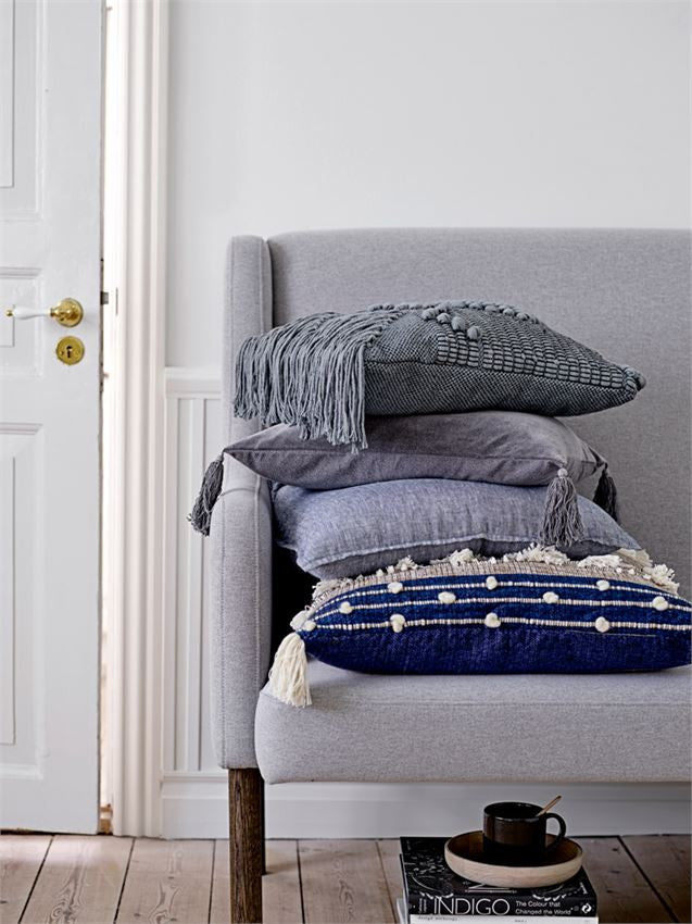 Gray Cotton Pillow