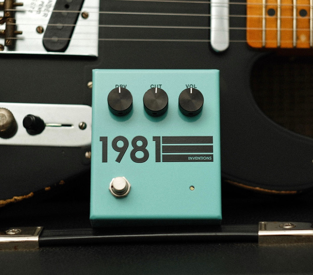 1981 Inventions Teal/Black
