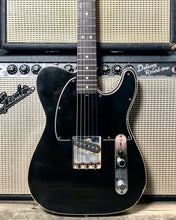 Load image into Gallery viewer, Danocaster Esquire Black/Black Guard