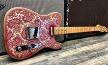 Load image into Gallery viewer, Fender Pink Paisley Telecaster 1968 - Refinish by Bill Crook