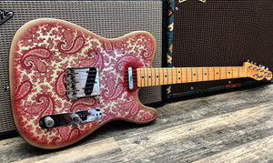 Fender Pink Paisley Telecaster 1968 - Refinish by Bill Crook