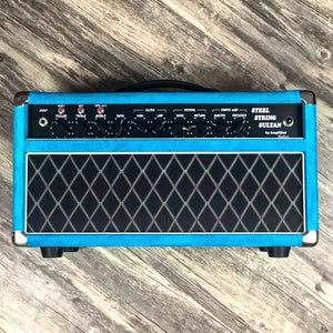 Amplified Nation Steel String Sultan - Turquoise Suede