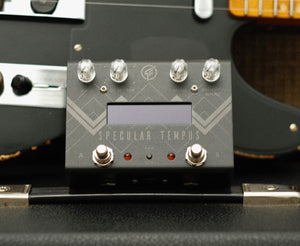 "GFI System Specular Tempus Reverb/Delay ""BLVCK BEAUTY"" Blackout Limited Edition"