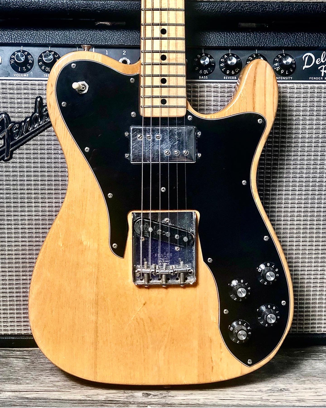 Fender Telecaster Custom 1973 Owned by Ray LaMontagne