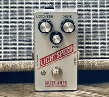 Load image into Gallery viewer, Greer Amps Lightspeed Organic Overdrive - Silver Britches Edition