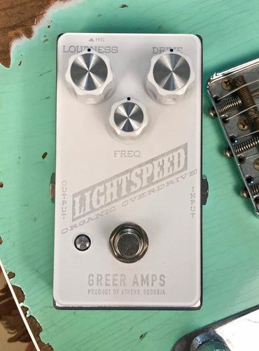 Greer Amps Lightspeed Organic Overdrive - Snow Blind Edition