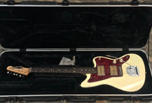 Load image into Gallery viewer, Waterslide Offset Olympic White W/ Dual Foil Pickups & Descendant Vibrato
