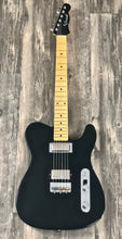 Load image into Gallery viewer, Crook Custom Guitars Tele Tuxedo Black