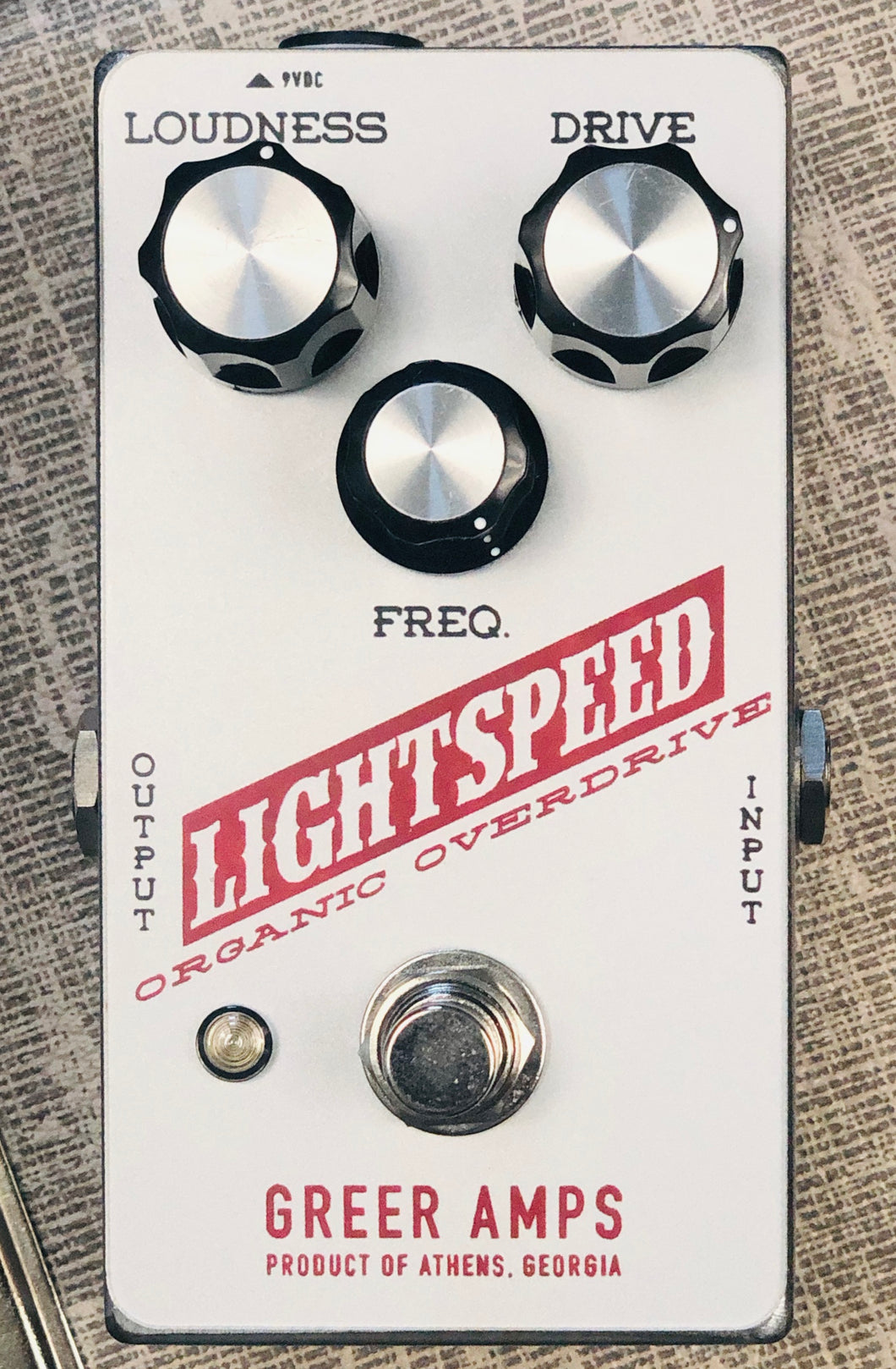 Greer Amps Lightspeed Organic Overdrive - Silver Britches Edition