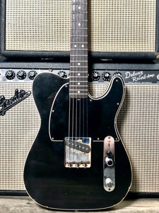 Danocaster Esquire Black/Black Guard