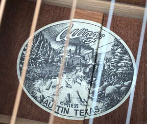 Collings OM1ESS Englemann Spruce Short Scale
