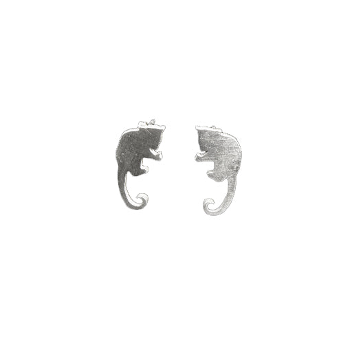 Ringtail possum Stud Earrings