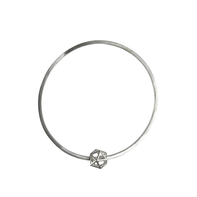 Platonic Icosahedron bangle