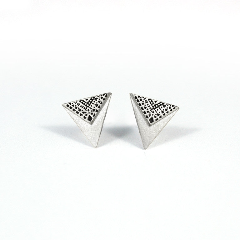 Patterned Bunting Earrings