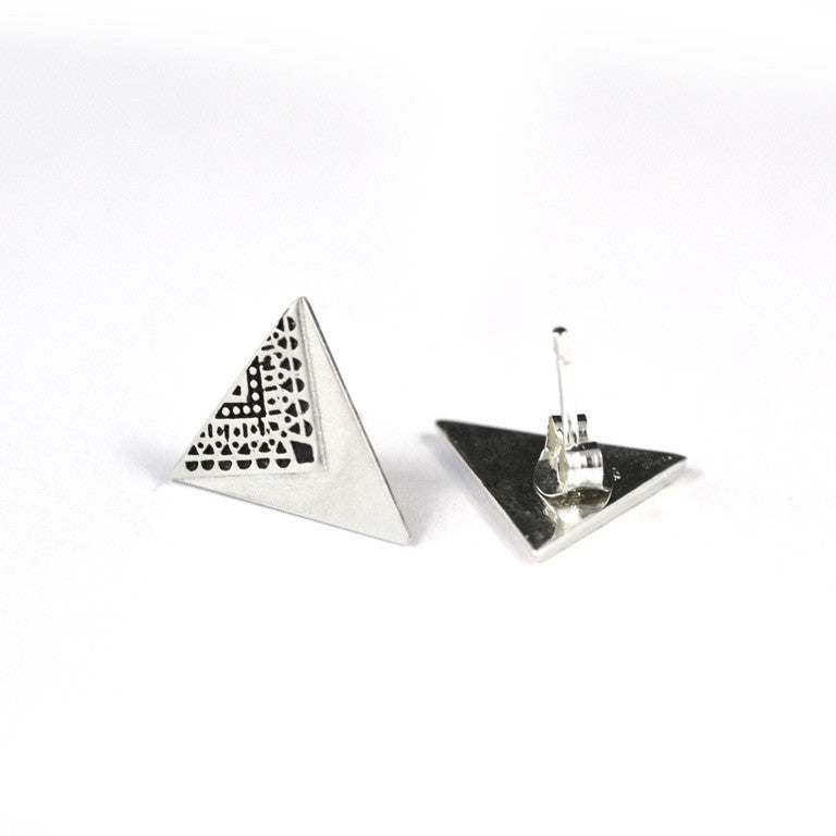 Patterned Bunting Earrings 02