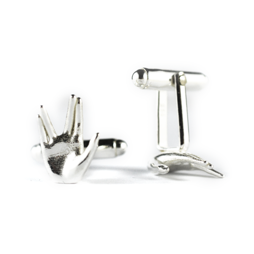 'Live Long and Prosper' cufflinks
