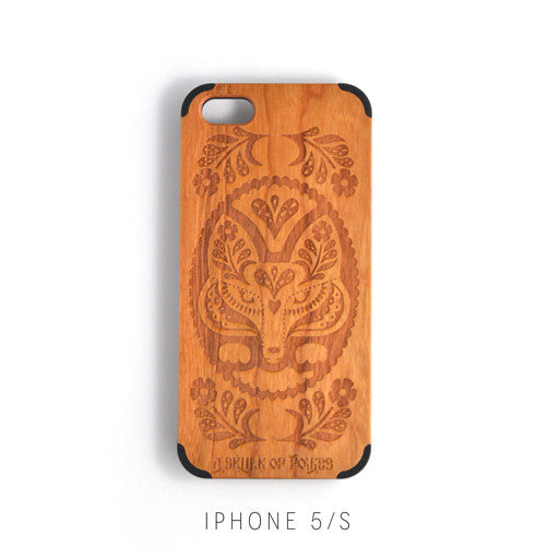 IPHONE 5 - FOLK FOX CHERRYWOOD