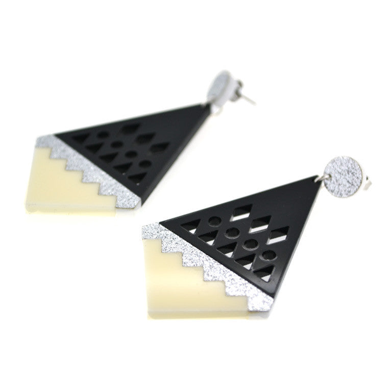 OVERSIZED STUDS GRETA - 3 COLOURS TO CHOOSE FROM!
