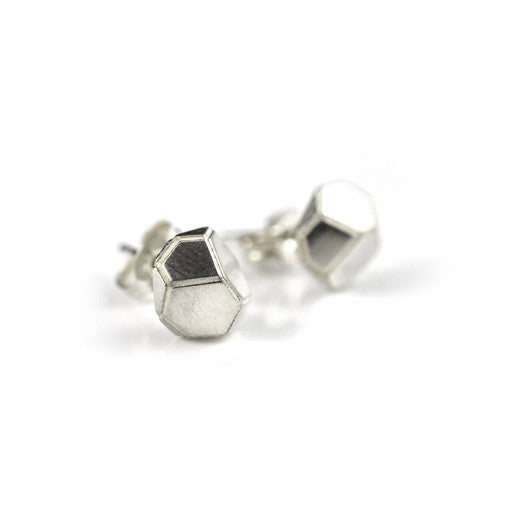 Fracture Stud Earrings