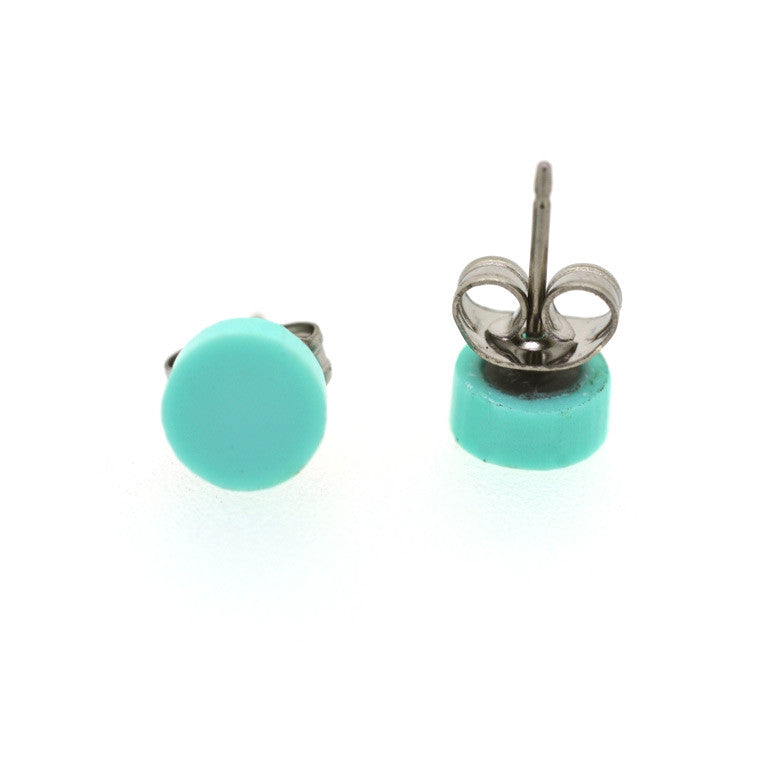 PASTEL STUDS CIRCLE - 7 COLOURS TO CHOOSE FROM!